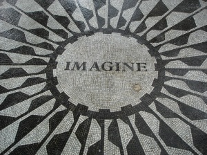 Lennon Imagine. wdr3 on Flikr. https://www.flickr.com/photos/wdr3/1045283154