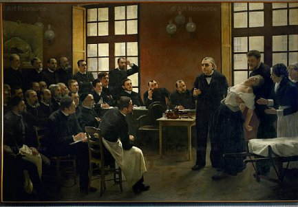 Jean Marie Charcot by André Brouillet (see below) [Public domain], via Wikimedia Commons