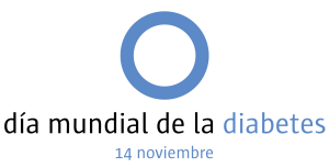 By International Diabetes Foundation - http://commons.wikimedia.org/wiki/File:World_Diabetes_Day_logo.svg, Public Domain, Link