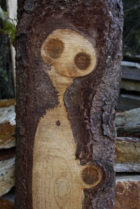 """""""Holz Geist Gesicht"""" by Usien - Own work. Licensed under CC BY-SA 3.0 via Wikimedia Commons."""