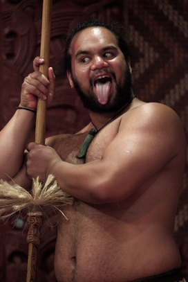 New Zealand Maori culture 009 by Steve Evans on Flikr. https://www.flickr.com/photos/babasteve/5418324230
