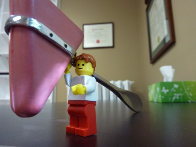 Lego man and reflex hammer by Dr. Mark Kubert on Flikr. https://www.flickr.com/photos/clearpathchiropractic/7590265518