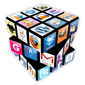 Rubik apps. Cesar Poyatos on Flikr. https://www.flickr.com/photos/cpoyatos/5791320785