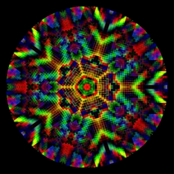 Migraine Aura Kaleidoscope. Joana Roja on Flikr. https://www.flickr.com/photos/cats_mom/2988669345/in/photostream/