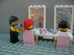 Lego hairdresser. RobethK on Flikr. https://www.flickr.com/photos/39066002@N05/3595226638