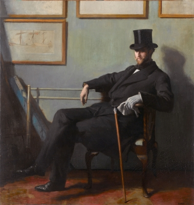 By William Orpen - 1. Unknown2. National Maritime Museum, London3. Royal Museums Greenwich, Public Domain, https://commons.wikimedia.org/w/index.php?curid=1210625*oil on canvas *96.5 x 91.5 cm *circa 1900 *signed b.r.: Orpen