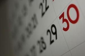 Calendar. Dafne Cholet on Flikr. https://www.flickr.com/photos/dafnecholet/5374200948