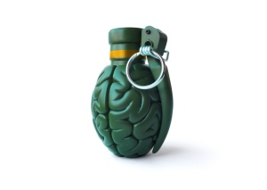 BRAINADE! the Brain Grenade. Emilio Garcia on Flikr. https://www.flickr.com/photos/lapolab/11929014084